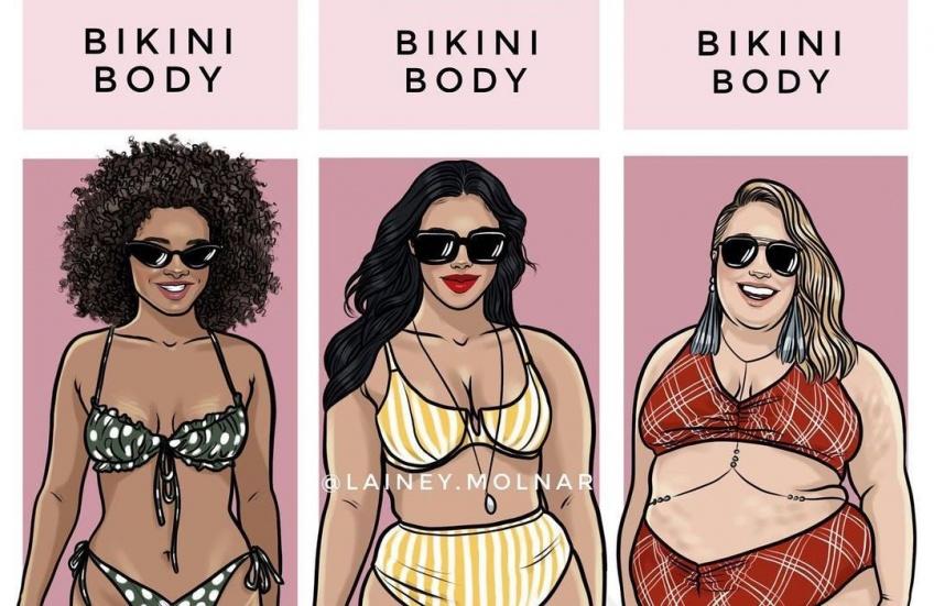 Les illustrations décomplexantes qui nous montrent la réalité d'être une femme