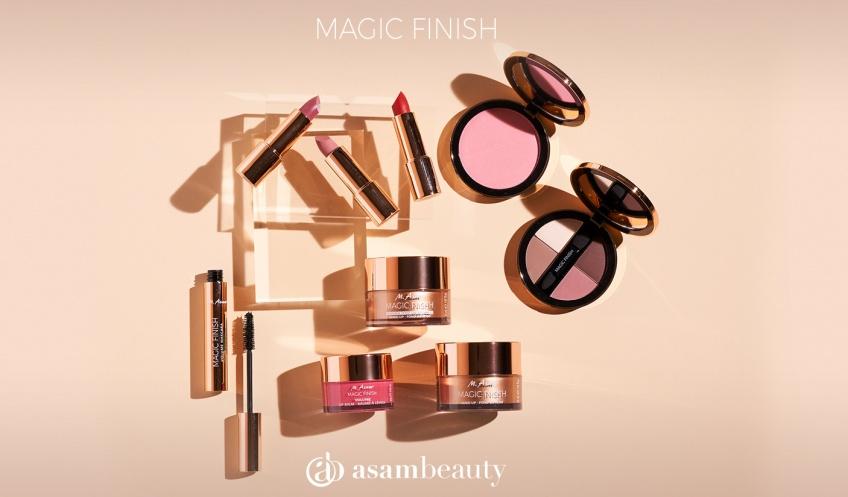 MAGIC FINISH d'asambeauty, le maquillage révolutionnaire qui prend soin de votre peau en beauté