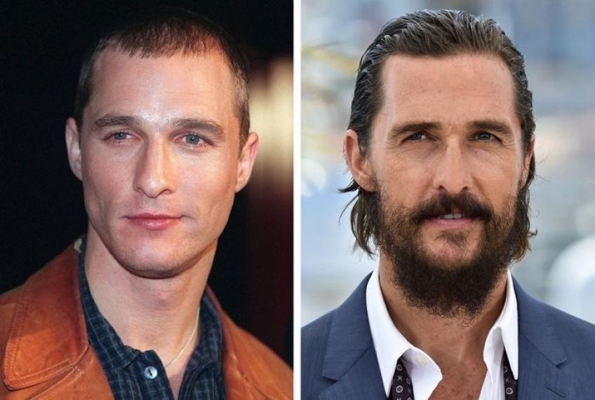 Ces hommes célèbres sont aussi beaux avec les cheveux longs que courts !