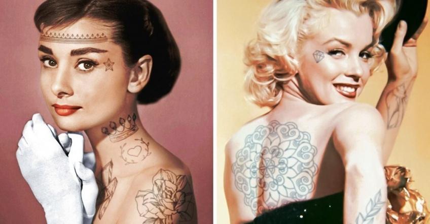 Et si ces célébrités avaient des tatouages ?
