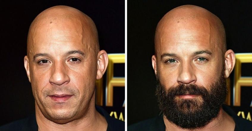 Et si ces hommes célèbres avaient laissé pousser leur barbe ?