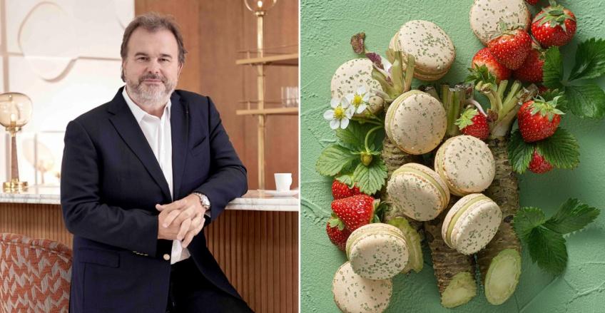 Pierre Hermé nous propose de voyager au japon avec sa nouvelle collection de pâtisseries