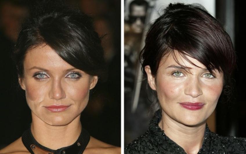Ces célébrités si identiques qu'on pourrait croire qu'elles sont de la même famille !