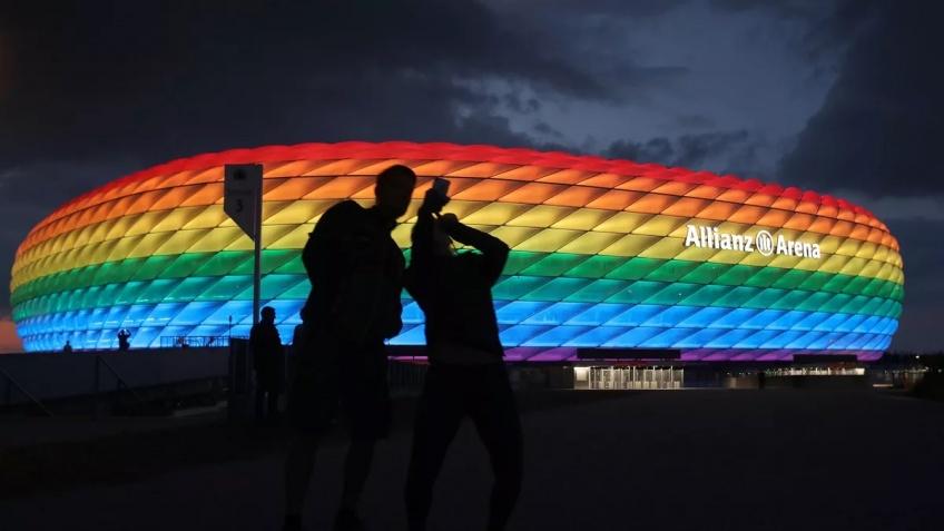 Le stade de Munich pourrait être éclairé aux couleurs LGBTQ+ lors du match contre la Hongrie