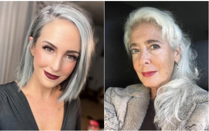 Ces femmes de toutes générations témoignent et assument fièrement leurs cheveux gris !