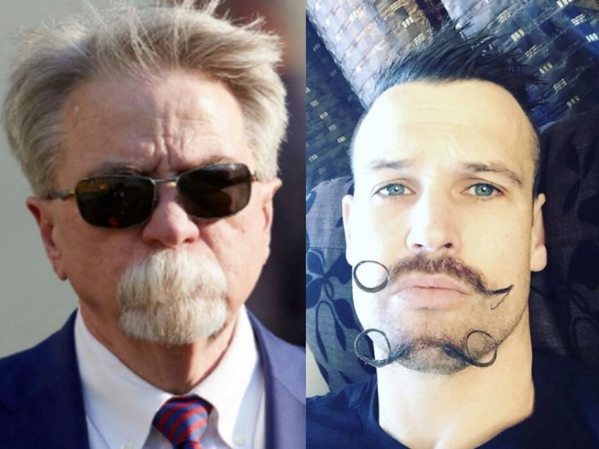 Une nouvelle tendance vue sur le net des plus surprenantes : la double moustache !