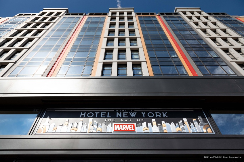 Disneyland Paris : Le premier hôtel dédié au monde de l'art Marvel ouvre ses portes !