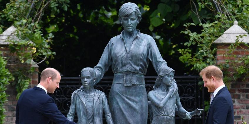 Une statue de Lady Di qui rend hommage à la Princesse du style !