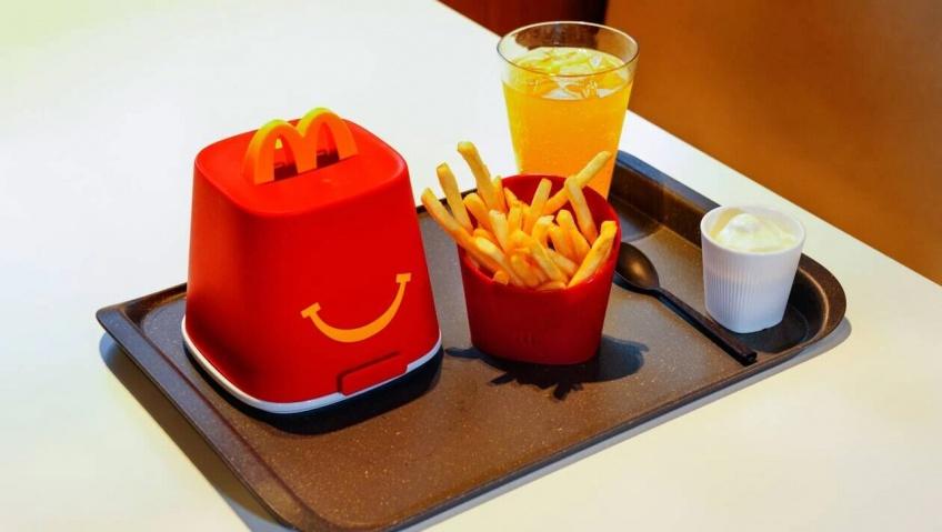 McDonald's teste la vaisselle réutilisable dans plusieurs restaurants
