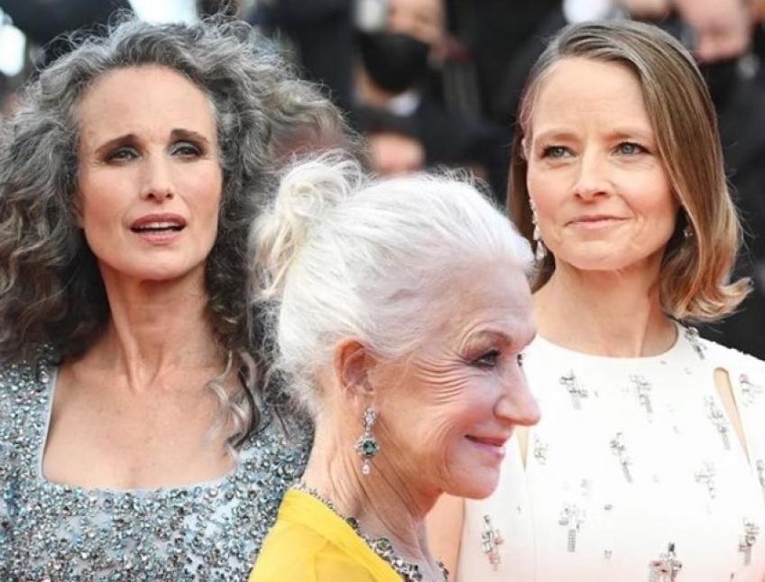 Les cheveux gris s'emparent du Festival de Cannes !