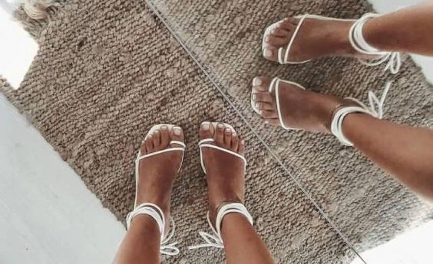 #Shoesday : les sandales à lanières, must-have de l'été !