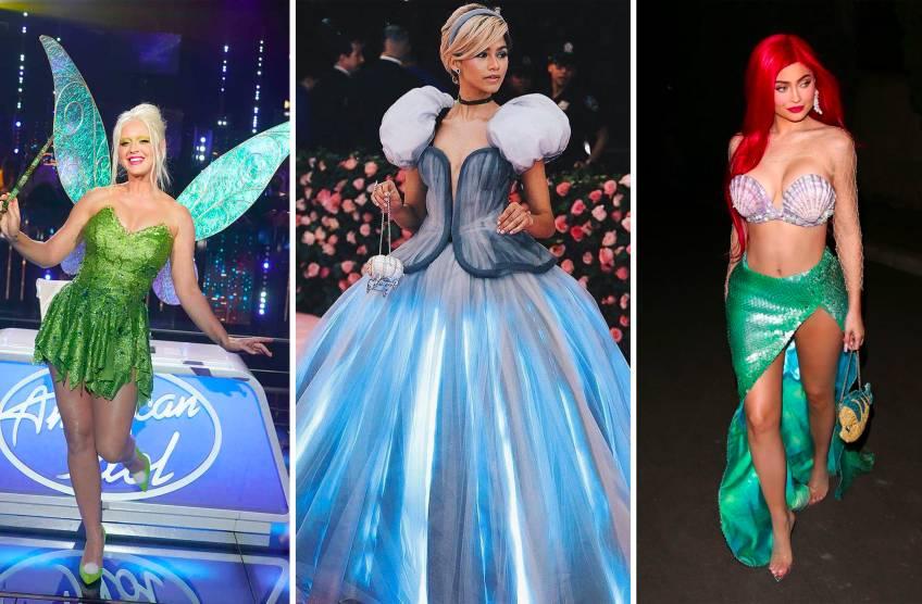 Les célébrités qui se sont inspirées de looks de princesses Disney