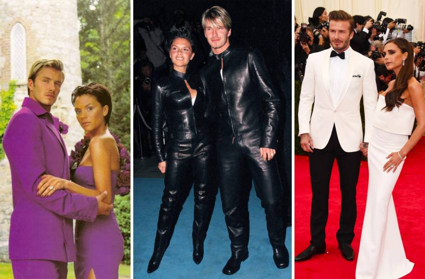 Amour de mode : Tous les looks matchy matchy de Victoria et David Beckham