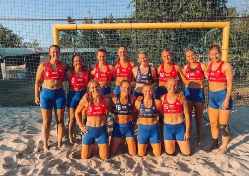 L'équipe norvégienne de handball renonce au bikini, elle écope d'une amende
