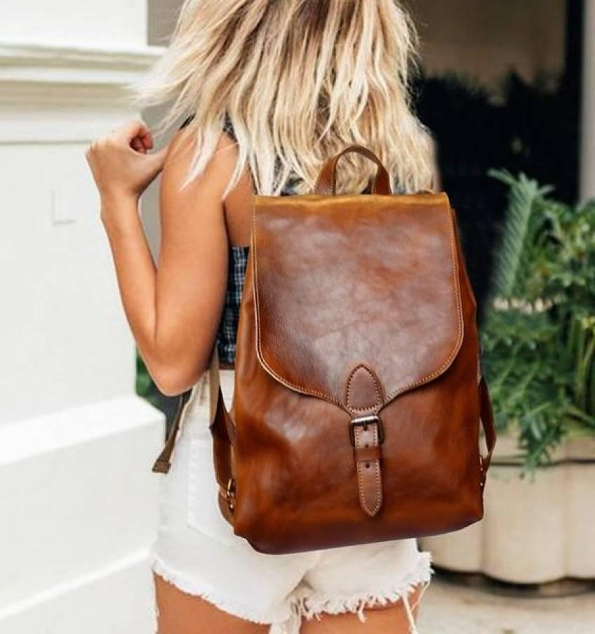 Le sac à dos est lui aussi une pièce tendance !