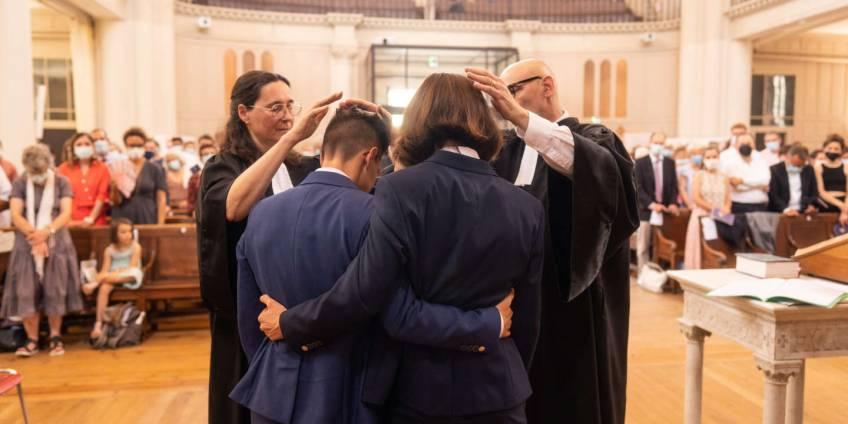 À Montpellier, deux femmes pasteures et lesbiennes se sont mariées, une première en France