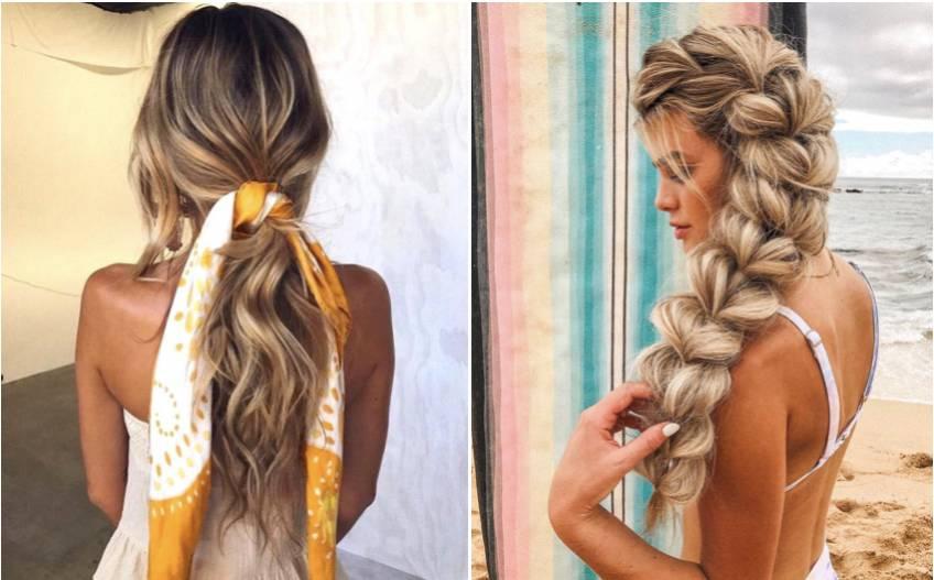 Les coiffures les plus stylées pour la plage !