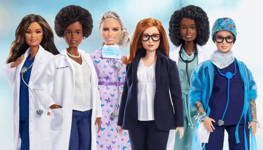 De nouvelles poupées Barbie en l'honneur des femmes de science !