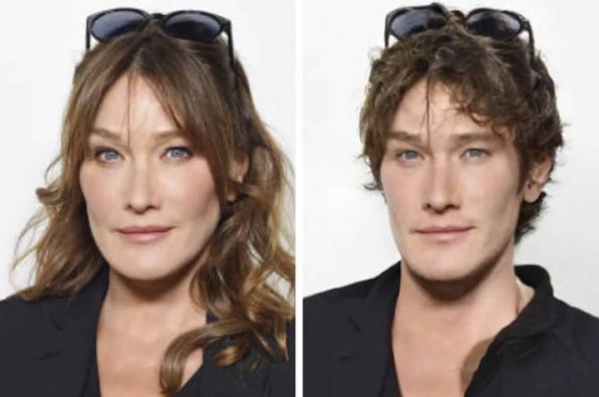 Et si ces stars françaises étaient des hommes ?