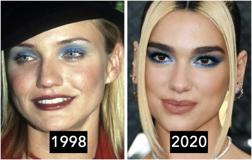 5 tendances make-up des années 90 qui reviennent à la mode !