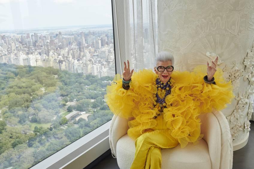 H&M collabore avec Iris Apfel pour ses 100 ans !