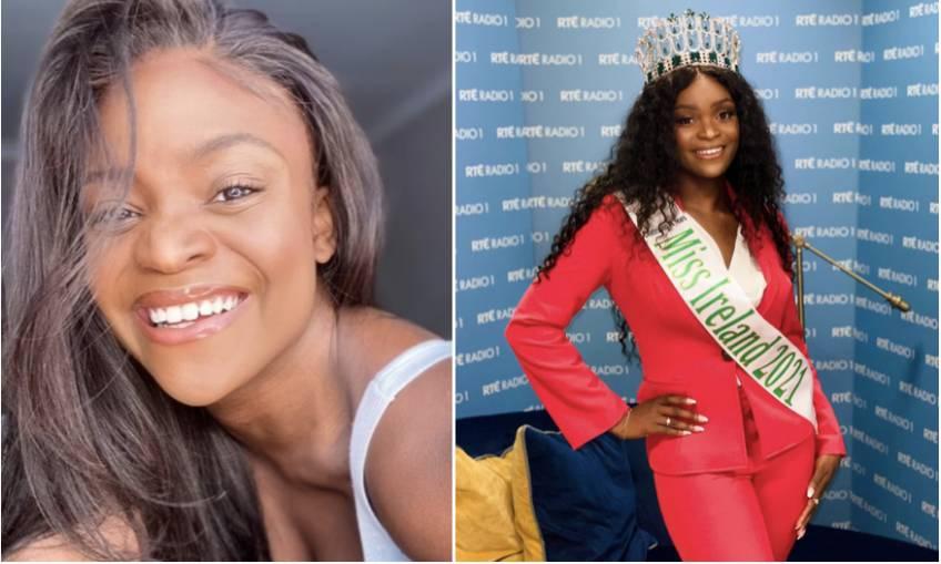 Pamela Uba est la première femme noire élue Miss Irlande !