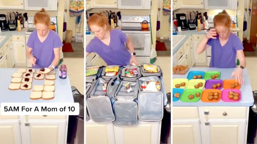 Cette maman de 10 enfants partage son quotidien sur les réseaux sociaux