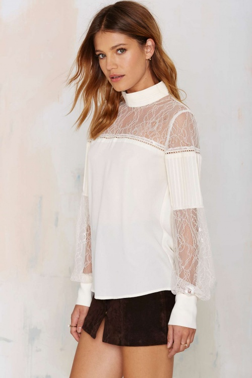 Nasty Gal - blouse
