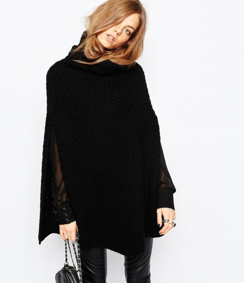 Stitch & Pieces - poncho
