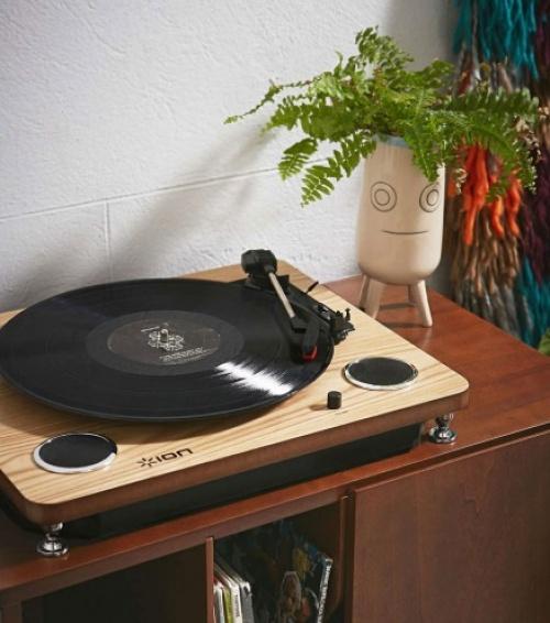 Platine Vinyle à hauts parleurs intégrés