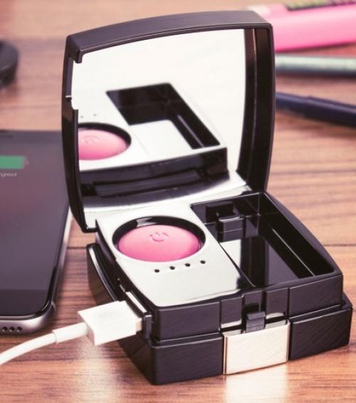 Chargeur externe design blush