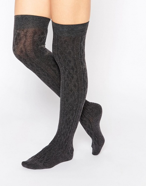 chaussettes hautes pieces