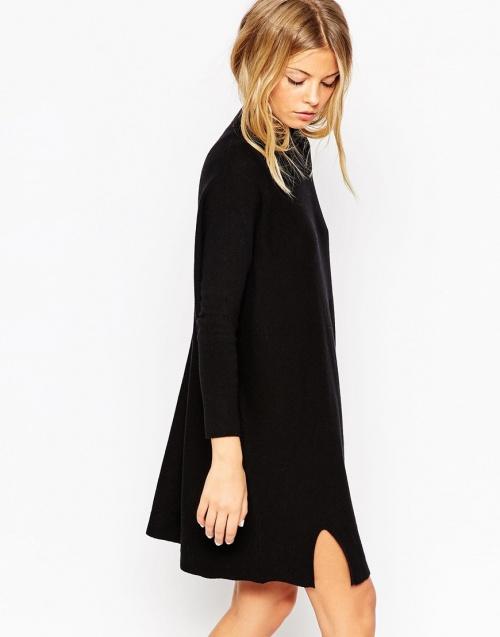 asos robe tunique noir