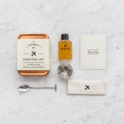 Fleux - kit pour cocktail de voyage