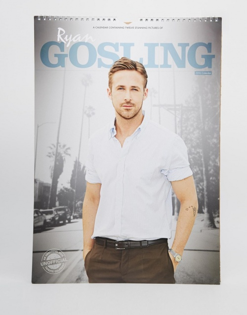 Asos - Calendrier Ryan Gosling