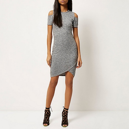 River Island - Robe grise