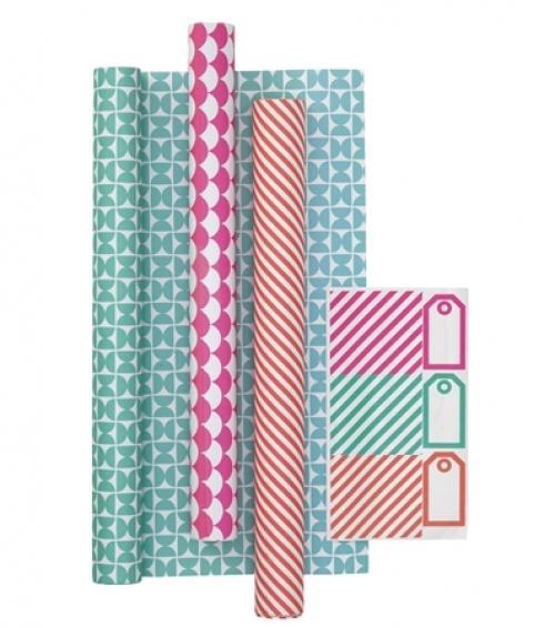 Hema - 3 rouleaux de papiers cadeaux