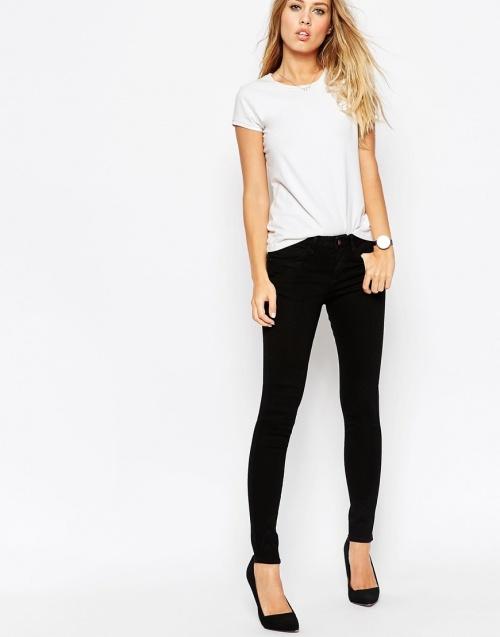 asos jeans slim noir