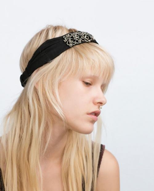 Zara bandeau cheveux orné
