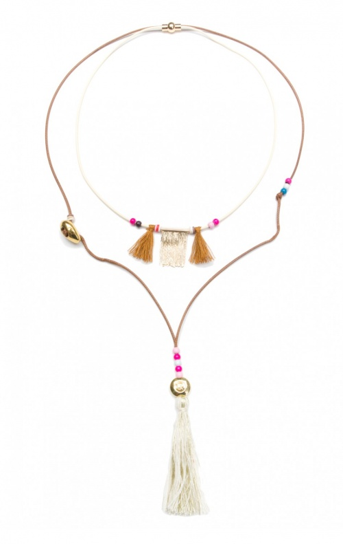 collier ethnique hipanema
