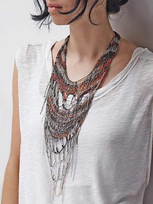 collier free people ethnique