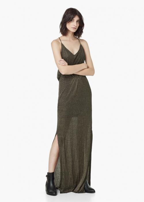 robe longue fendue mango
