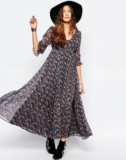 maxi robe denim and supply