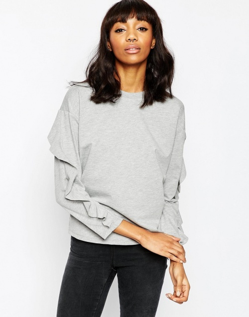 sweat asos gris