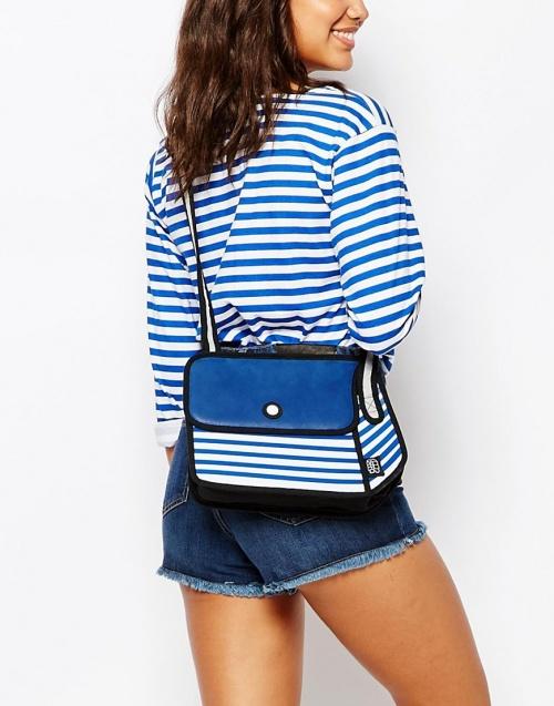 jumfrompaper sac bleu