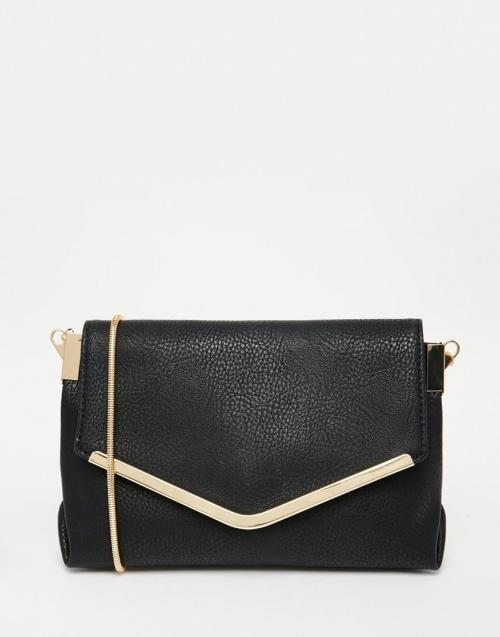 sac noire bandoulière pimbie