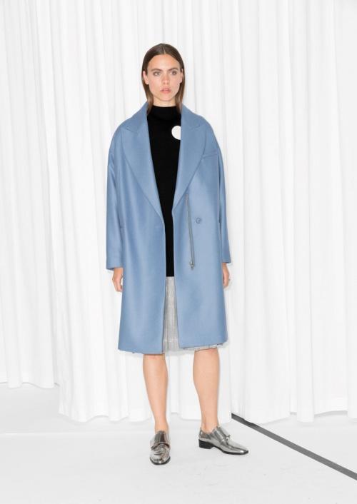 manteau bleu pale stories