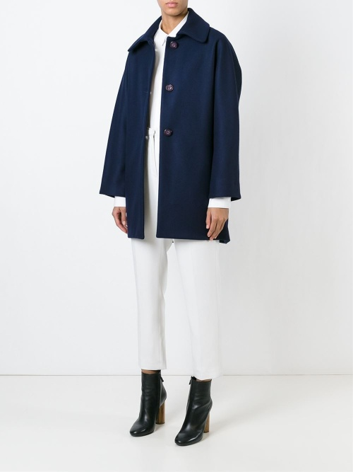 manteau bleu best +