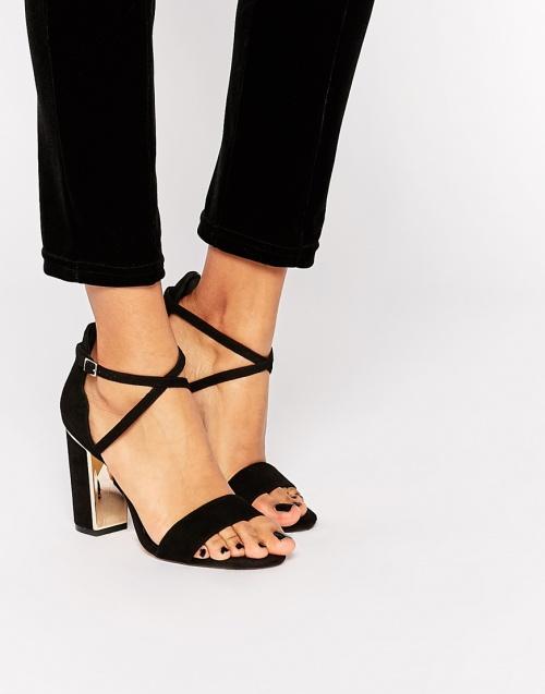 sandales dune noires