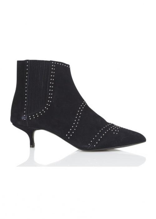 Claudie Pierlot - boots noite talons pointus cloutés